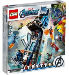 ​LEGO Super Heroes - Avengers Tower Battle (76166)​