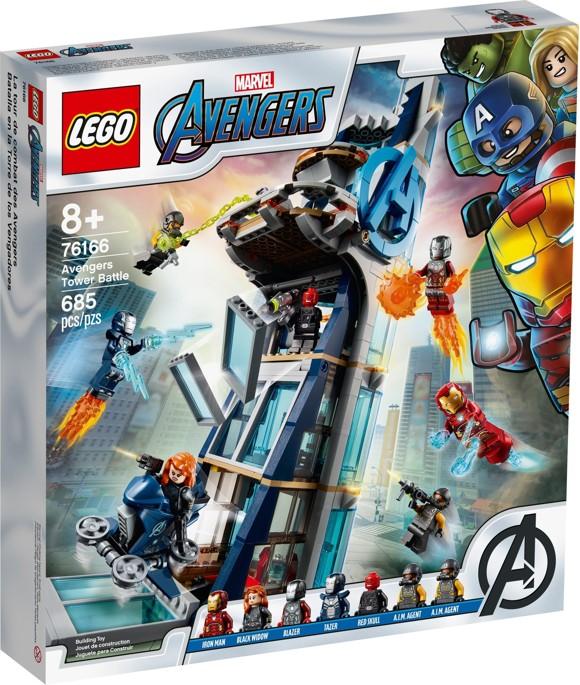 LEGO Super Heroes - Avengers Tower Battle (76166)