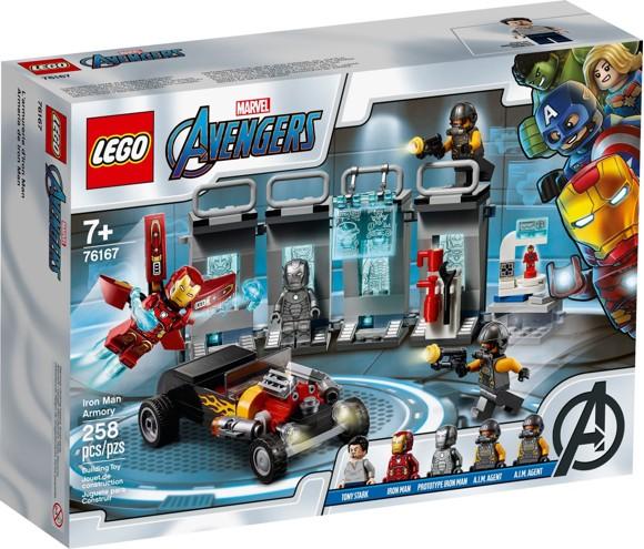 LEGO Super Heroes - Iron Man Armory (76167)
