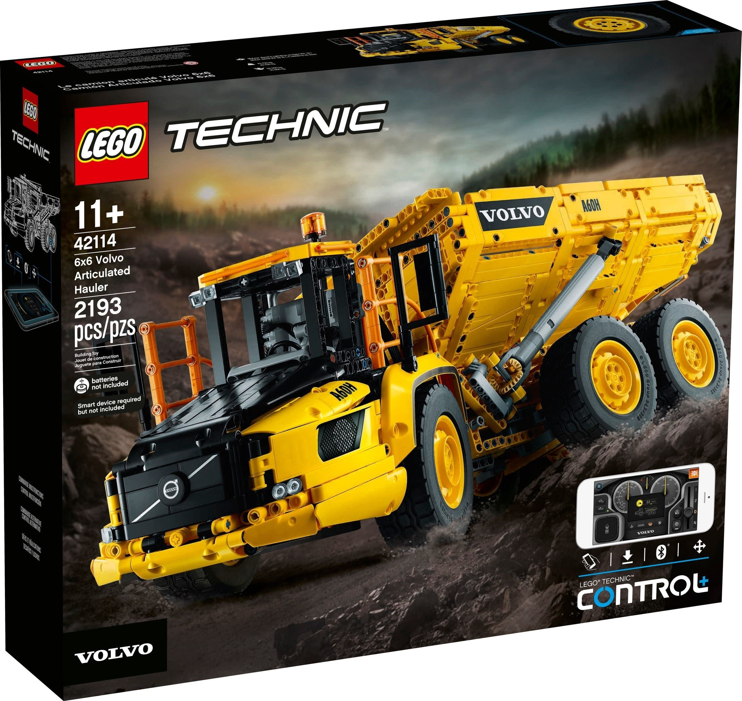 ​LEGO Technic - 6x6 Volvo Articulated Hauler (42114)​