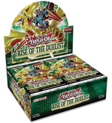 Yu-Gi-Oh - Rise of the Duelist Booster (Booster Kasse) (24 Boosters Pakker)