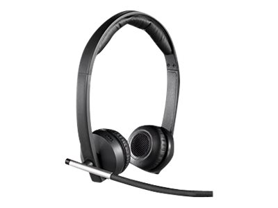 Logitech - Wireless Headset H820e