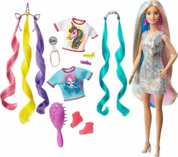 Barbie - Fantasy Hår Dukke (GHN04)