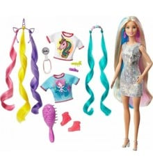 Barbie - Fantasy Hair Doll with Mermaid & Unicorn Looks (GHN04)
