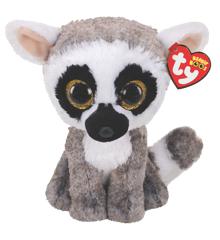 Ty Bamse - Beanie Boos - Lemuren Linus (Medium)