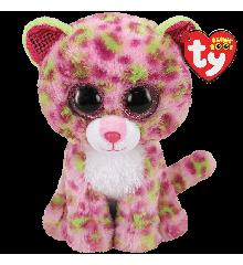 Ty Plush - Beanie Boos - Lainey the Pink Leopard (Medium) (TY36476)