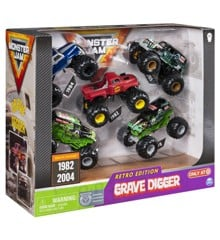 Monster Jam - Grave Digger Evolution 5pk (6053739)