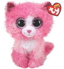 Ty Plush - Beanie Boos - Regan the Cat (Medium) (TY36479)