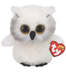 Ty Plush - Beanie Boos - Austin the White Owl (Medium) (TY36480)