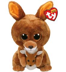Ty Bamse - Beanie Boos - Kænguruen Kipper (Medium)