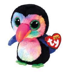 Ty Plush - Beanie Boos - Beaks the Toucan (Medium) (TY37264)