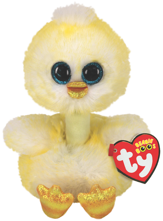 Ty Plush - Long Neck - Benedict the Chick (Medium) (TY37400)
