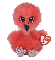 Ty Plush - Long Neck - Franny the Flamingo (Medium) (TY37401)