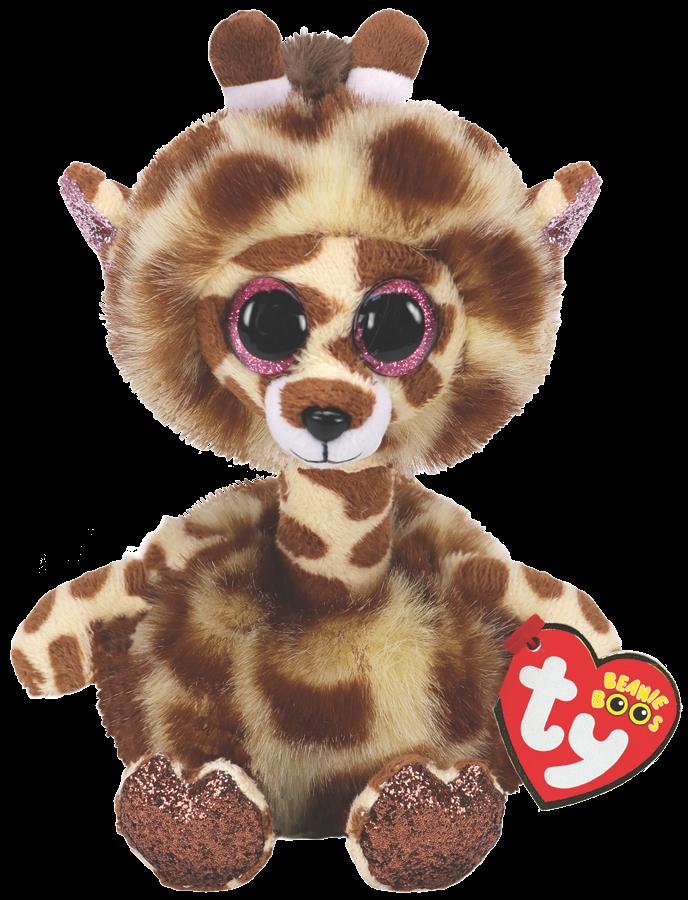 Ty Plush - Long Neck - Gertie the Giraffe  (Medium) (TY37402)