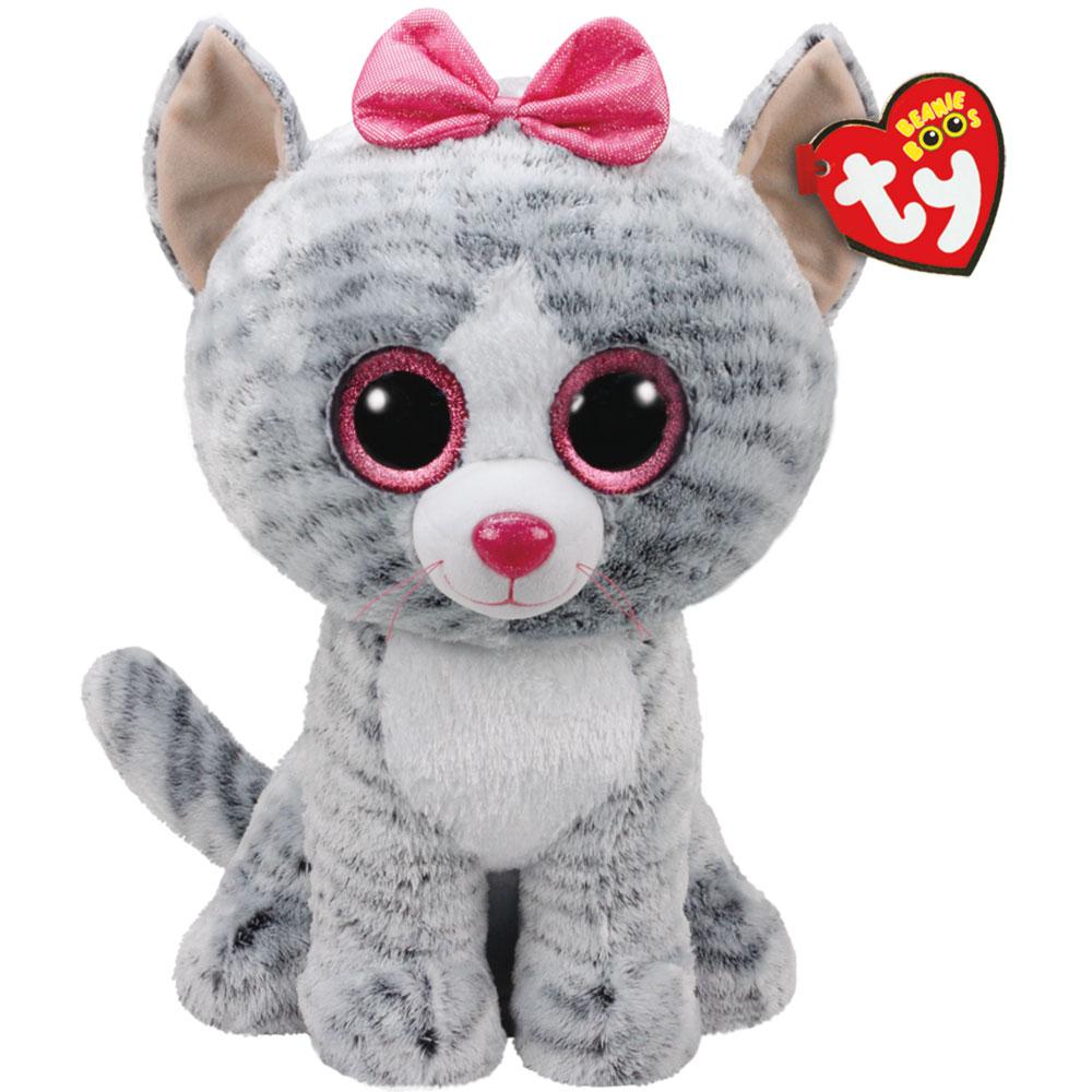 Ty Plush - Beanie Boos - Kiki the Cat (Large) (TY36838)