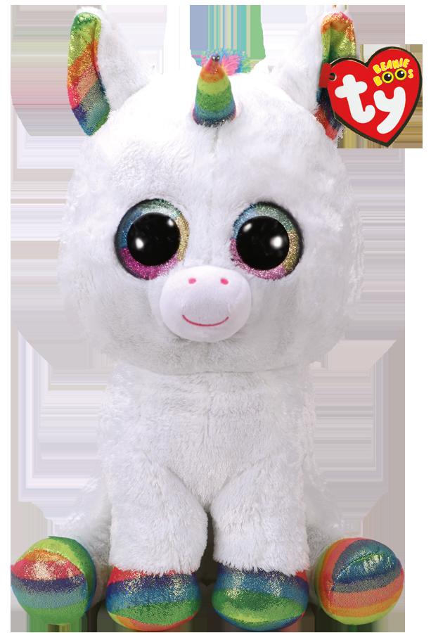 Ty Plush - Beanie Boos - Pixy the Unicorn (Large) (TY36859)
