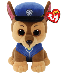 Ty Plush - Paw Patrol - Chase (Medium) (TY96319)