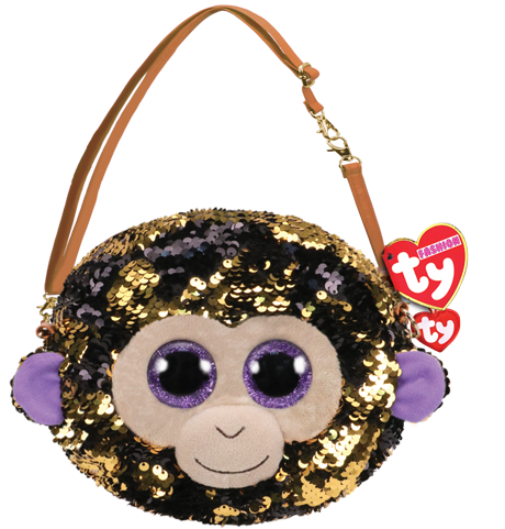 Ty Plush - Sequin Purse - Coconut the Monkey (TY95122)