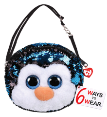 Ty Plush - Sequin Purse - Waddles the Penguin (TY95129)