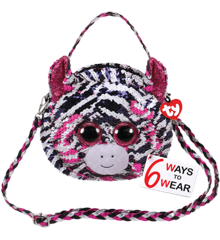 Ty Plush - Sequin Purse - Zoey the Zebra (TY95130)