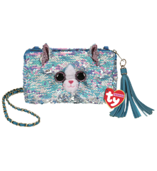 Ty Plush - Sequin Square Purse - Whimsy the Cat (TY95151)