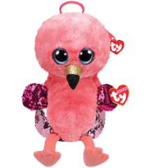 Ty  Plush - Sequin Backpack - Gilda the Flamingo (TY95027)