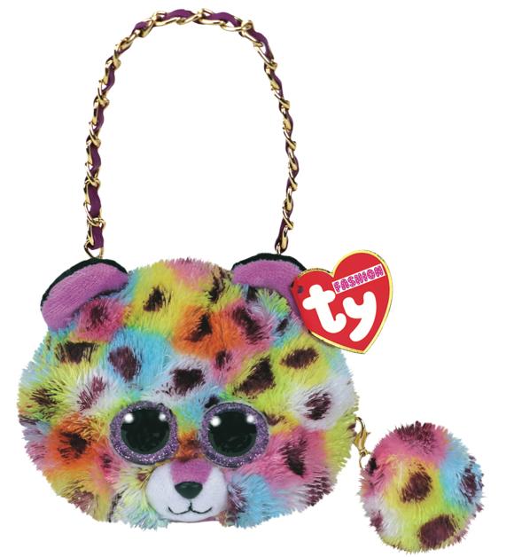 Ty Plush - Mini Purse - Giselle the Leopard (TY95216)