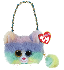 Ty Plush - Mini Pung - Katten Heather
