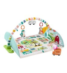 Fisher-Price - Activity City Gym to Jumbo Play Mat (GJD41)
