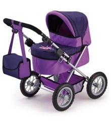 Bayer - Dolls Pram - Trendy - Purple (13012AA)