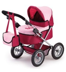 Bayer - Dolls Pram - Trendy - Red/Pink (13014AA)
