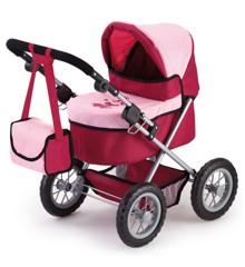 Bayer - Dukkevogn - Trendy - Rød/Pink