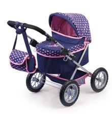 Bayer - Dolls Pram - Trendy - Navy (13052AA)