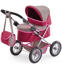Bayer - Dukkevogn - Trendy - Pink/Grå