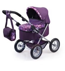 Bayer - Dolls Pram - Trendy - Purple (13094AA)