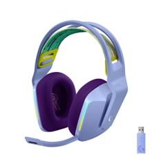 Logitech - G733 LIGHTSPEED Headset - LILAC - 2.4GHZ