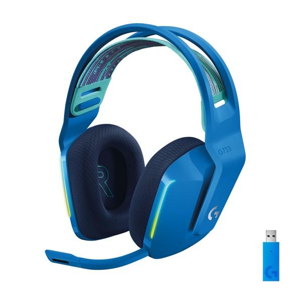 Logitech - G733 LIGHTSPEED Headset - BLUE - 2.4GHZ