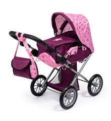 Bayer - Dolls Pram - City Star - Pink (13671AA)