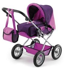 Bayer - Dolls Pram - Combi Grande - Purple (15012AA)