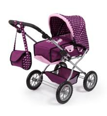 Bayer - Dolls Pram - Combi Grande - Purple (15037AA)