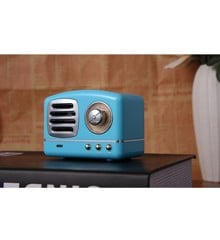 Mese - Retro Superior Speaker - Blue (6950322)