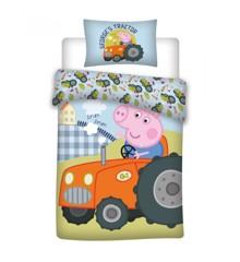 Bed Linen - Junior Size 100 x 140 cm - George Pig (100081-01)