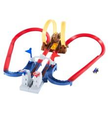 Hot Wheels - Mario Kart Bowser's Castle Track Set (GNM22)