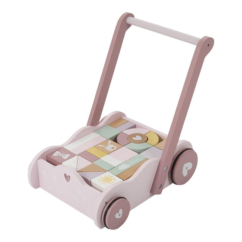 Little Dutch - Baby walker, pink (LDW4414)