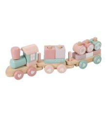 Little Dutch - Wooden train, Pink (4479)