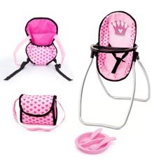 Bayer - Dolls Accessories Set - Pink (63698AB)