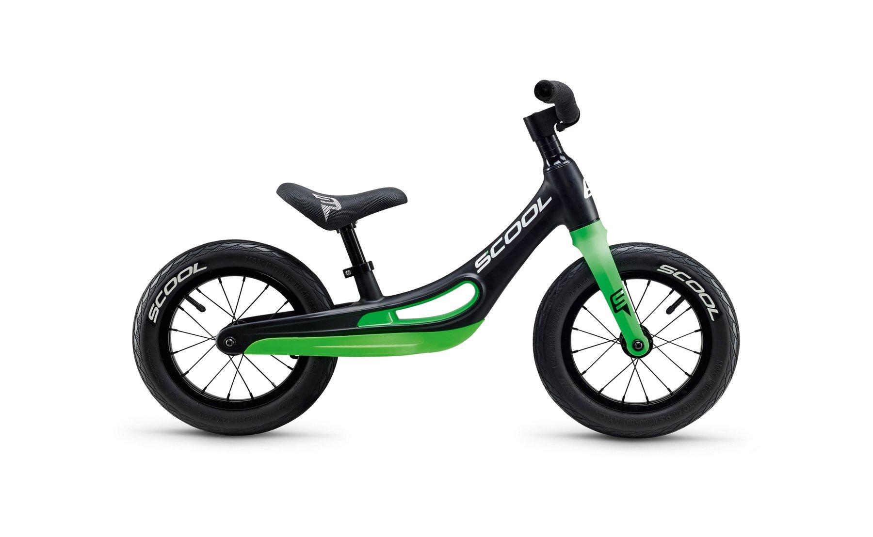S'COOL - Løbecykel - PedeX Magnesium 12'' - Grøn | løbecykel og løbehjul