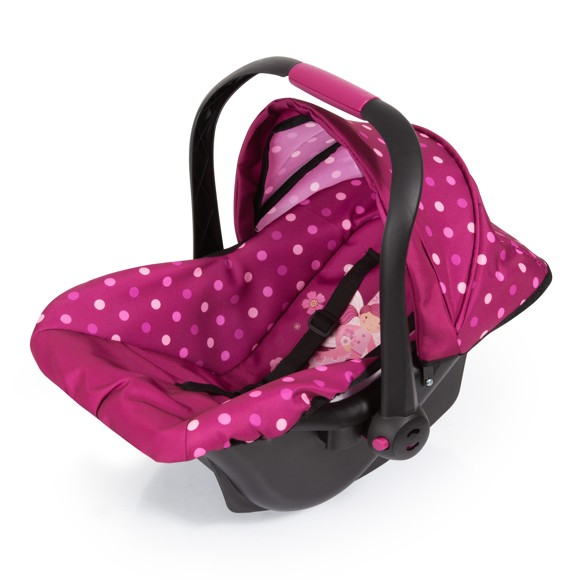 Bayer - Deluxe Car Seat with Cannopy - Pink (67967AA)