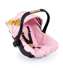 Bayer - Deluxe Car Seat with Cannopy - Gold Bow (67990AA)