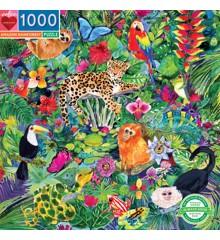 eeBoo - Puzzle - Amazon Rainforest, 1000 pc (EPZTAZR)